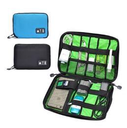 Yeni Varış Bubm Sabit Disk Kulaklık Kabloları Usb Flash Sürücüler Depolama Seyahat Çantası Dijital Kablo Organizatör Çantası 5 renkler DHL Ücretsiz
