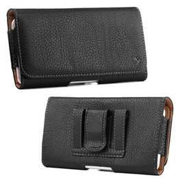 Low price Leather beLts online shopping - Universal Leather Pouch Pocket Holsters for Phone Wallet Belt Clip Bag for iPhone Galaxy S9 Plus Low Price