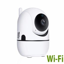 Cctv Wifi Ip Australia - 720P wifi ip camera mini CCTV camera sd card auto tracking baby monitor ptz 360 surveillance camera baby caring