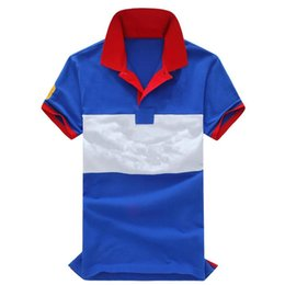 $enCountryForm.capitalKeyWord NZ - Mixed color Big horse New brand polo shirt men fashion Business camisa masculina hombre manga corta marca blouse blusa chemise WNS3058 M-XXL