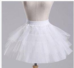 $enCountryForm.capitalKeyWord Australia - New Arrival In Stock White Black Red Ballet petticoat Wedding Accessories Short Crinoline Petticoat Bridal Lady Girls Underskirt