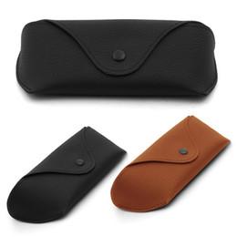c6ecee1c4acd SunglaSSeS leather caSe online shopping - PU Leather Eyewear Sunglasses Box  Bag Waterproof Sunglasses Case Hard
