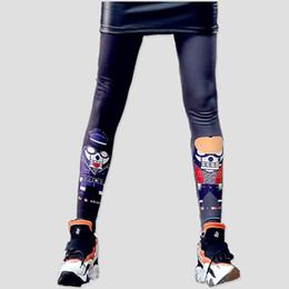 China just.be.never women hip hop leggings harajuku punk rock pants lacina for girls gothic pink fitness cotton kawaii black leggings cheap punk gothic leggings suppliers