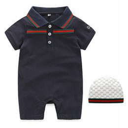68552c5d7469 High Quality Pure Cotton Baby Clothes Summer Boy Girl 0-3 Month Newborn  Soft Short Sleeve Jumpsuits Lapel Overalls Children