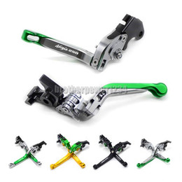 $enCountryForm.capitalKeyWord Australia - Ajustable Foldable CNC Brake Clutch levers Pair For Kawasaki Ninja 250 2008-2012