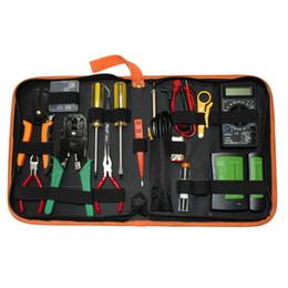 Electronic Tools Australia - PS-P15B Electronics Network Repair Tools Set with Soldering Iron Metal Spudger Pliers Tweezers Digital Multimeter