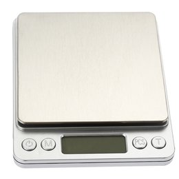 digital scales tray NZ - 500g x 0.01g Portable Mini Electronic Digital Scales Pocket Case Postal Kitchen Jewelry Weight Balanca Digital Scale With 2 Tray