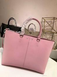 Best Brand Leather Purses Canada - Brand designer Fashion women handbag crossbody messenger bag tote purse real leather shoulder bag 3 colors best quality