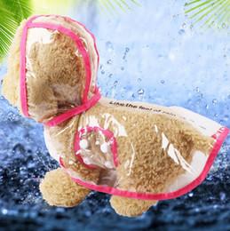 $enCountryForm.capitalKeyWord NZ - Dog Apparel Waterproof Small Pet Dog Raincoats Waterproof Jacket Hooded Pet rain Coat Clothing Transparent Pet Dog Rainwear Size XS S M A835