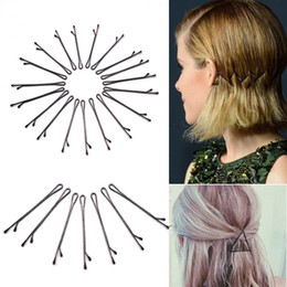 simple hair clips NZ - 600pcs Popularity Simple Hairpin For Hairdresser Clips Tools Hair Clip Pin For Hair Accessories Invisible Hair Wedding Christmas Gift