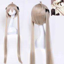 $enCountryForm.capitalKeyWord UK - Anime Yosuga No Sora Kasugano Sora Cosplay Party Long Double Ponytail Heat Resistant Synthetic Hair Wig