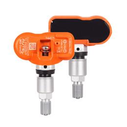 $enCountryForm.capitalKeyWord Australia - 4pcs lot Autel tpms Mx Sensor 433MHZ Universal TPMS Sensor mx-senor 315mhz Support Programing MaxiTPMS Pad pressure tester
