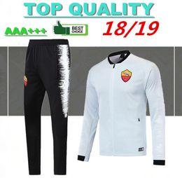 Football waterprooF training jackets online shopping - 2018 Rome Football  jacket tracksuit kits TOTTI de foot bb3bcbe2a