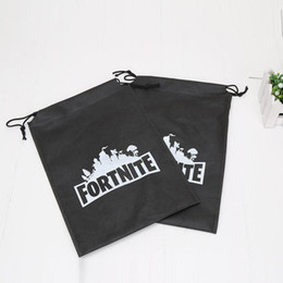Pvc drawstring bags online shopping - Kids bags Toys Fortnite Storage bag Drawing bag Toys Fortnite game Character Drawstring Bag gift p