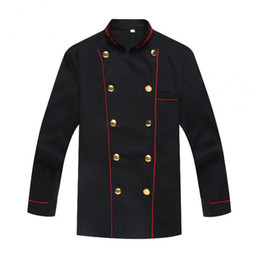 Chinese  free shipping Unisex Kitchen Chef Uniform Bakery Food Service long Sleeve kitchen Western restaurant canteen cake Cooking Clothes manufacturers