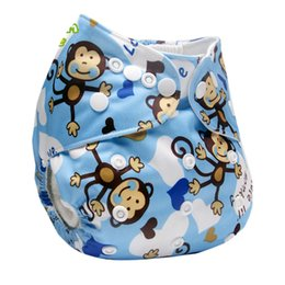 diaper ai2 UK - Couche Lavable Print Pattern Cloth Diaper Reusable Baby Diaper Washable Diapers Baby Nappy Cover