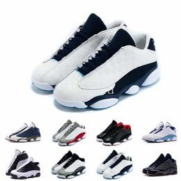 Glitter store online shopping - With Box Factory Store Mens New s Low Basketball Shoes Sneakers Cheap Good Quality XIII Original Quality shoes