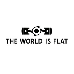 $enCountryForm.capitalKeyWord UK - The World Is Flat car sticker laptop sticker personality decal CA-370