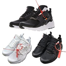 42685c43060c 2018 Air Huarache 4 IV New OFF Top Quality Running Shoes White Black Men  Women Huaraches Sneakers Sports Mens Hurache Shoes Size 36-44
