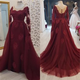 $enCountryForm.capitalKeyWord Australia - Sexy Burgundy Long Sleeves Mermaid Mother of the Bride Dresses 2020 Plus Size Vintage Lace Cheap Formal Evening Prom Party Gowns For Mother