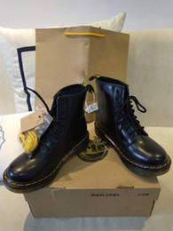 Designer Martin Echtes Leder Schuhe Stiefel High Top Dr 1460 Motorrad Stil und Frauen Slim Fit Schuhe Liebhaber Schnee Stiefel