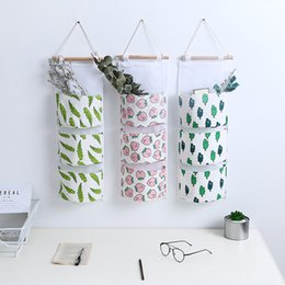 jewelry hanging storage organizer Australia - 3 Pocket Wall Hanging Storage Bag Oxford Cloth Storage Bag Organizer Over The Door Closet Organizer for Bathroom Living Room Kitchen Bedroom