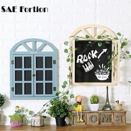 european retro modern fashion style house window blackboard message board wall hanging home furnishing wall decorations vqw4380 discount house window styles
