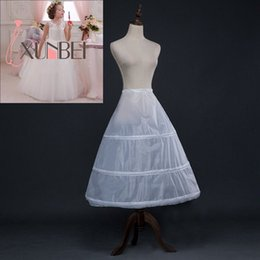 $enCountryForm.capitalKeyWord NZ - 3 Hoops White A Line Long Flower Girl Dress Petticoat Kids Ballet Petticoat Child Crinoline Tutu Skirts Girls Underskirt CPA1195