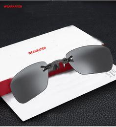 a89d6f5e8254 WEARKAPER Matrix Morpheus Apple Style Rimsless Sunglasses Men Clamp Nose  Movie Sun Glasses Portable Eyewear Oculos De Sol