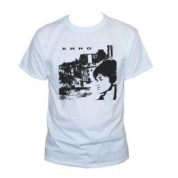 $enCountryForm.capitalKeyWord Australia - KINO VIKTOR TSOY T SHIRT Russian Garage Punk Rock Band Graphic Printed Tee Top Quality T-Shirts Men O Neck Top Tee Plus Size