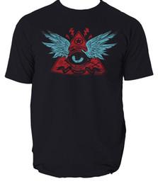Custom Print T Shirt Cheap Australia - Pyramid Eye t shirt bad bones crew s-3xl 2018 hot tees custom printed tshirt free shipping cheap tee T shirt printing