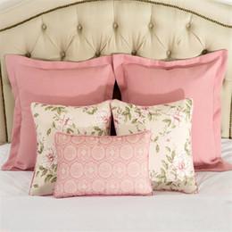 Pink Princess Luxury Cushion Cover Almofada Cojines Decor Floral Circle Pillows Home Textiles Supplies Chair Seat Car Covers