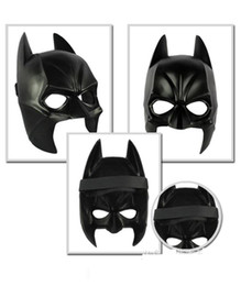 Wholesale Real Airsoft Mask Darth Vader Halloween Costume Party Mask Cartoon Simulation Male Children Adults Batman Black Plastic And Half Face