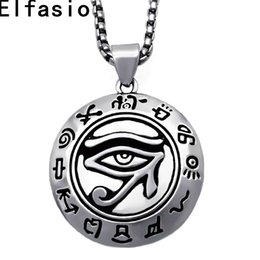 Shop pewter pendants wholesale uk pewter pendants wholesale free mens boys silver pewter pendant egyptian eye of ra horus udjat amulet stainless steel chain p303 aloadofball Image collections
