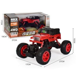 4x4 toys NZ - large High Speed 4WD Radio RC Car 2.4G Off-Road Car 4x4 Driving Controle Remoto Rc Drift Car Vehicle Hobby Toy