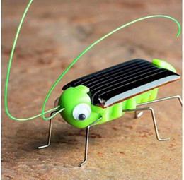 Discount educational gadgets for kids - Solar grasshopper Educational Solar Powered Robot Toy Educational Toy Gadget Gift solar toys for kids KKA5726