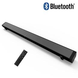 822847c49a7 LP-09 Sound Bar Subwoof Bluetooth Speaker Home TV Echo Wall Soundbar U-disk  Pling Speaker Wall-mounted Remote Control