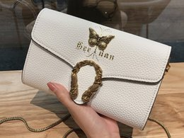Cheap Cross body online shopping - Women Leather Crossbody sturdy Lichee grain cowhide Mini size concise handy Clutches cm Chain Good and Cheap