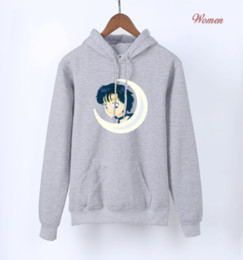 самые горячие девушки аниме оптовых-Japan Anime Kawaii Sailor Moon Pink Hoodies For Girls Hot Spring Autumn Cute Sweatshirts For Lady Women s Harajuku Hoodie