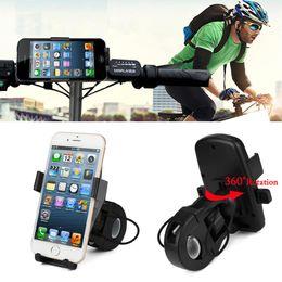 360 Grad geschwenkt Motorrad Fahrrad MTB Bike Lenkerhalter Universal für Handy GPS mit gepolsterten Seiten Schutz