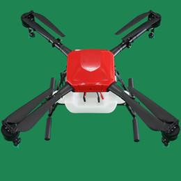 Aerops 10L 10 kg Carga útil Eje agrícola UAV multirrotor de 4 ejes Eje para pulverización de riegos de pesticidas de agua (sin ensamblar)