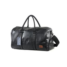 China Outdoor Sport PU Gym Fitness Bag Training Shoulder Bags Shoes Storage Pocket Leather Travel Luggage Multifunction Handbag cheap pp shoes men suppliers