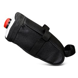 Wholesale SAHOO Water resistant Bike Saddle Bag Under Seat Pack with Trail Lamp perfect to fit together to the bike saddle