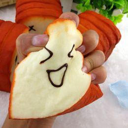 $enCountryForm.capitalKeyWord NZ - Kawaii jumbo Toast Bread Squishy Super Slow Rising Phone Straps holder Scent Soft Bun Charms Food Collectibles Toys