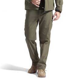 $enCountryForm.capitalKeyWord NZ - Winter Shark Skin Soft Shell Tactical Camouflage Pants Men Trousers Windproof Waterproof Warm Camo Army Fleece Pants