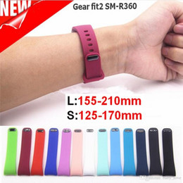 $enCountryForm.capitalKeyWord Australia - L S Replacement Watch Band For Samsung Gear Fit 2 SM-R360 bracelet Silicone Wristband Strap for Samsung Galaxy Gear Fit2 Band