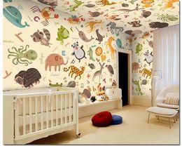 $enCountryForm.capitalKeyWord NZ - Custom photo wallpaper 3D animal wallpaper cartoon infants children room kindergarten playground toy mural Home wall Decor