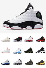 d50656148 Homens tênis de basquete 13 ele tem jogo filme preto branco combinando sapatos  designer de panda esporte tênis tamanho 41-47 com caixa