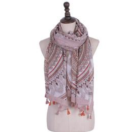 $enCountryForm.capitalKeyWord UK - Scarf Casual Women BeautyLady Shawl Fashion 2018 Tassel Printing Infinity Accessories Scarf