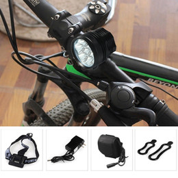 Battery pack headlamps online shopping - 7 LED Cycling Front Lamp Modes lm Headlamp with Lithium Battery Pack US EU Plug
